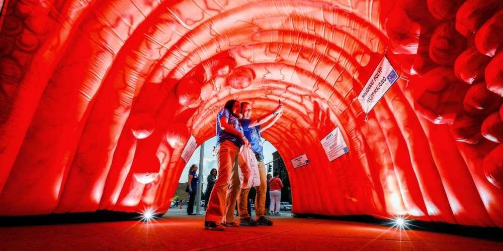 Oppblåsbare figurer og ballonger 5