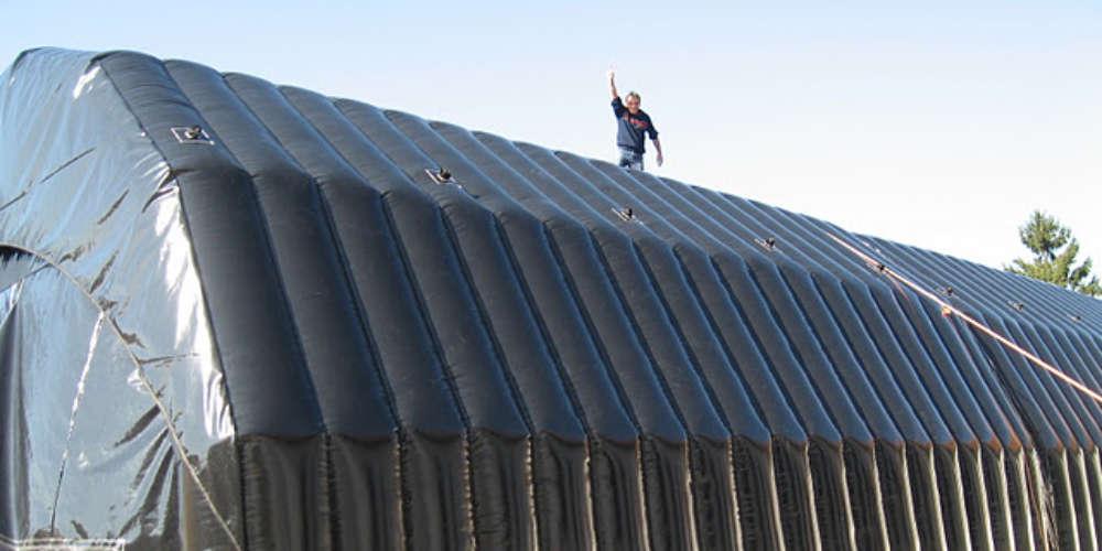 Arbeidstelt Plasthall oppblåsbare byggtelt 18