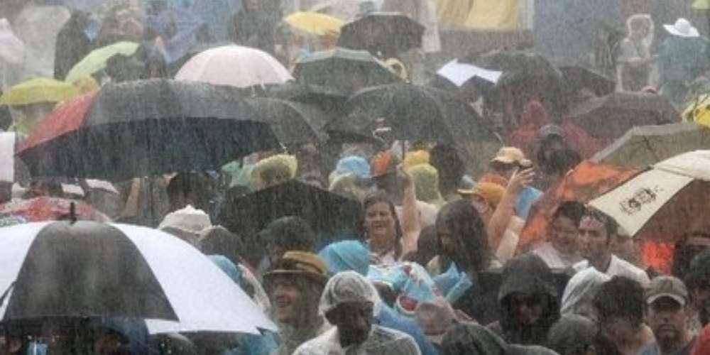 Hvordan tilby leie av telt bare når det regner4
