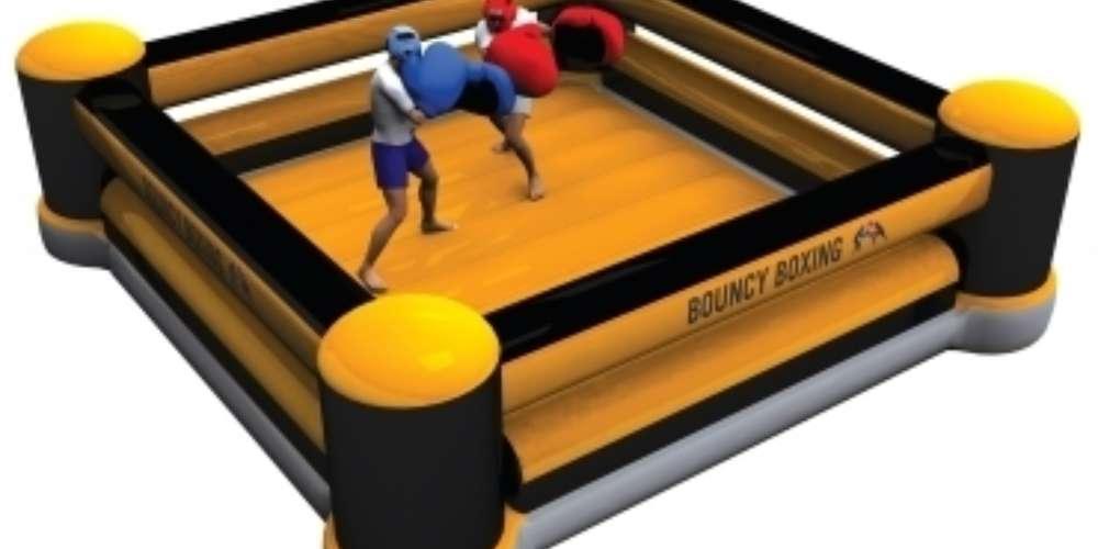 Oppblasbare spill hoppeslott boksing ldf 063