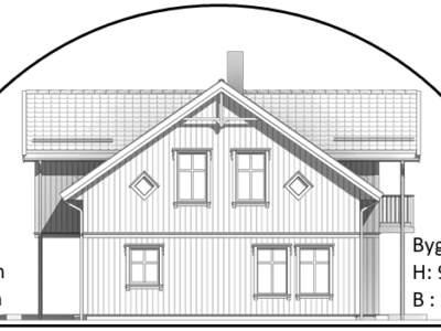 oppblasbare arbeidstelt plasthall byggtelt 18 tverrsnitt med hus