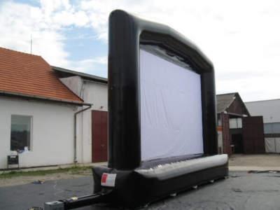 Oppblabar storskjerm large 10