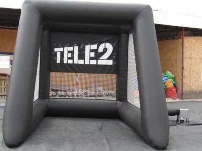 Oppblasbare spill fotballradar tele 2 3