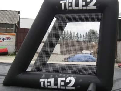 Oppblasbare spill fotballradar tele 2 8