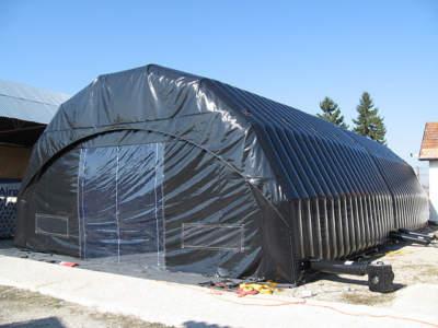 Arbeidstelt Plasthall oppblåsbare byggtelt 12