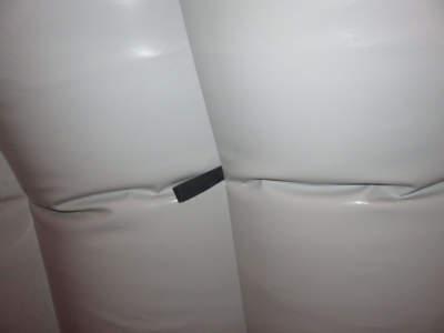 Arbeidstelt Plasthall oppblåsbare byggtelt 6