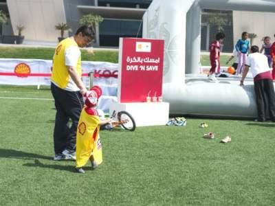 Oppblaasbar fotballpark fotballforbundet i Qatar 5