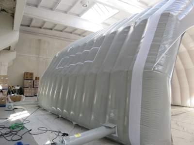 Arbeidstelt plasthall oppblasbare byggtelt 9 3