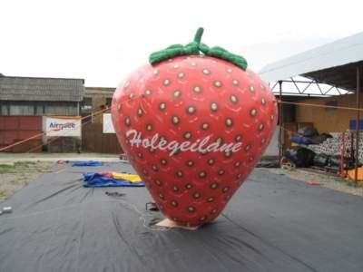 oppblaasbår reklame produkt kopi jordbær
