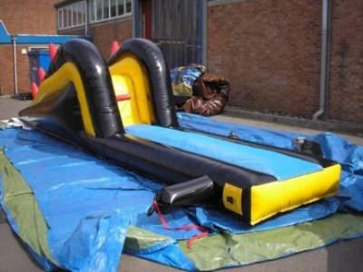 Oppblaasbare vannleker bassengsklier dive n slide ldf 0309 3
