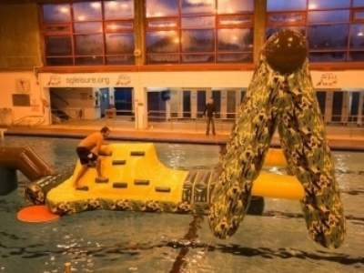 Oppblaasbare vannleker vannhinderloyper militar loypa ldf 2047 12
