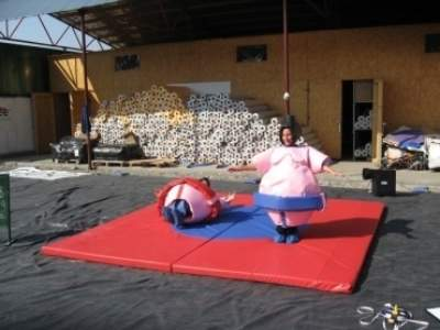 Oppblasbare spill sumo bryting junior ldf 569 1