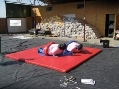 Oppblasbare spill sumo bryting junior ldf 569 2