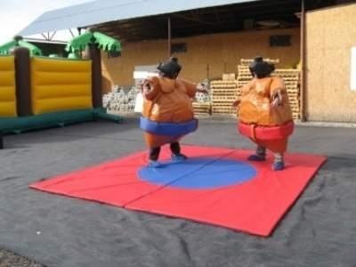 Oppblasbare spill sumo bryting voksen ldf570 5