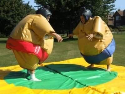 Oppblasbare spill sumo bryting voksen ldf570 6