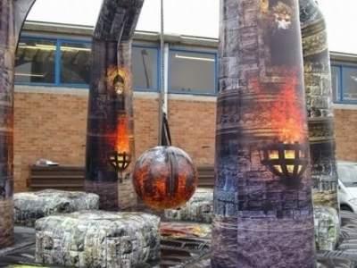 Oppblasbare spill xtreme demolition ldf 533b 10