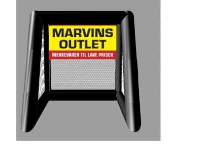 Pic7133066 3 D skisse av fotballradar Marvins outlet med logo