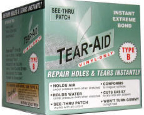 Tear-Aid rull kort
