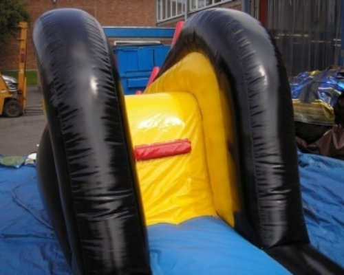 Oppblaasbare vannleker bassengsklier dive n slide ldf 0309 2