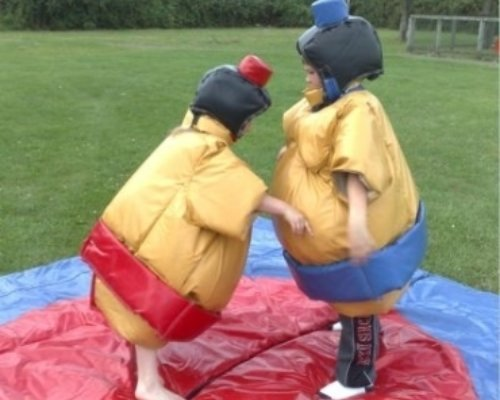 Oppblasbare spill sumo bryting junior ldf 569 4