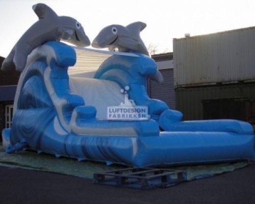 Thu1b887066 Image00003oppblåsbare vannsklier Den lille Delfinen LDF 491