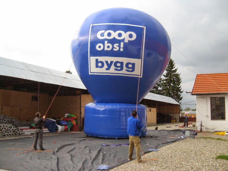 Oppblåsbare figurer og ballonger 3