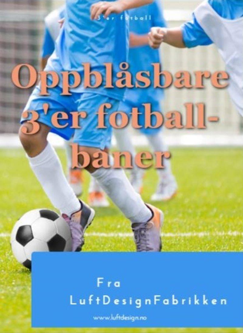 Brosjyre 3er fotballbaner forside