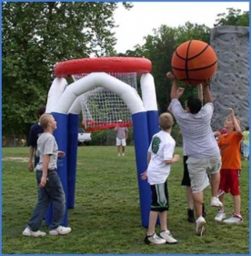 Oppblasbare spill basket ball hoop ldf 497 2